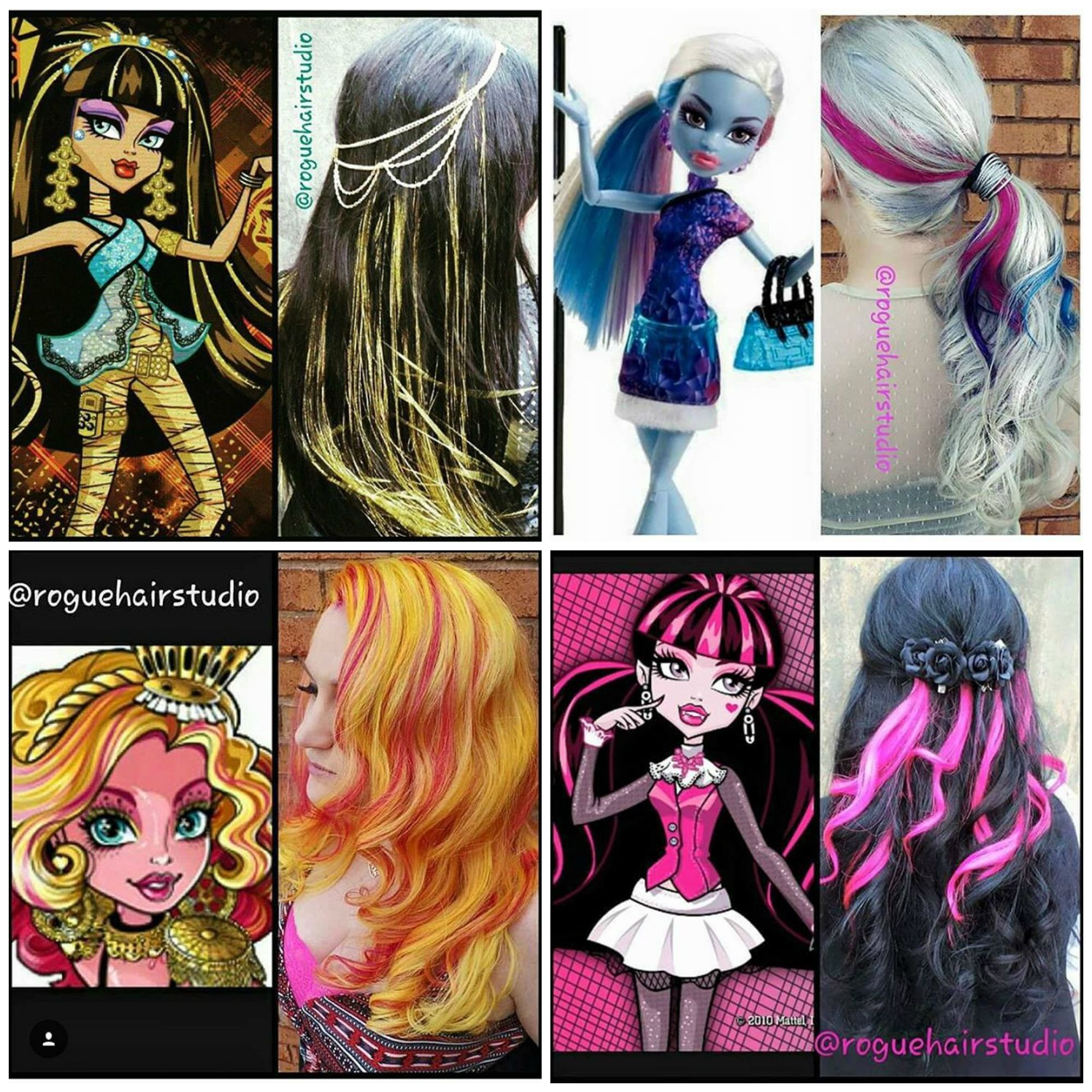 The Best Monster High Dolls Inspired These Beautiful Hair Colors By Pictures