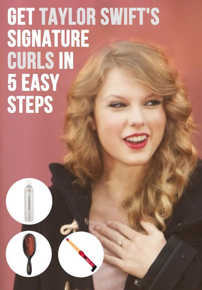 The Best Get Taylor Swift S Signature Curls In 5 Easy Steps Hair Pictures