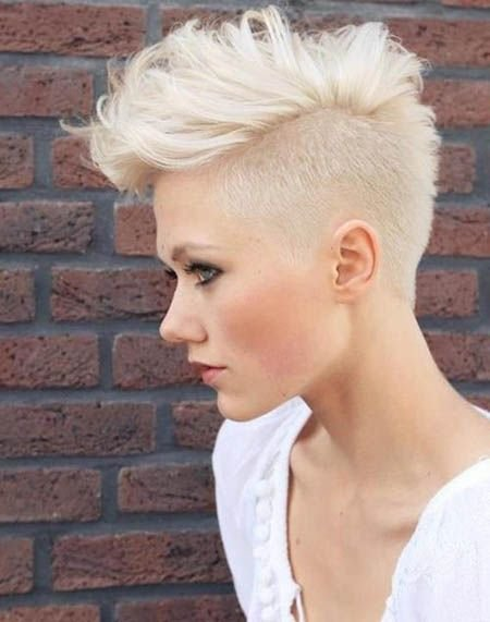 The Best 70 Most Gorgeous Mohawk Hairstyles Of Nowadays In 2019 Pictures