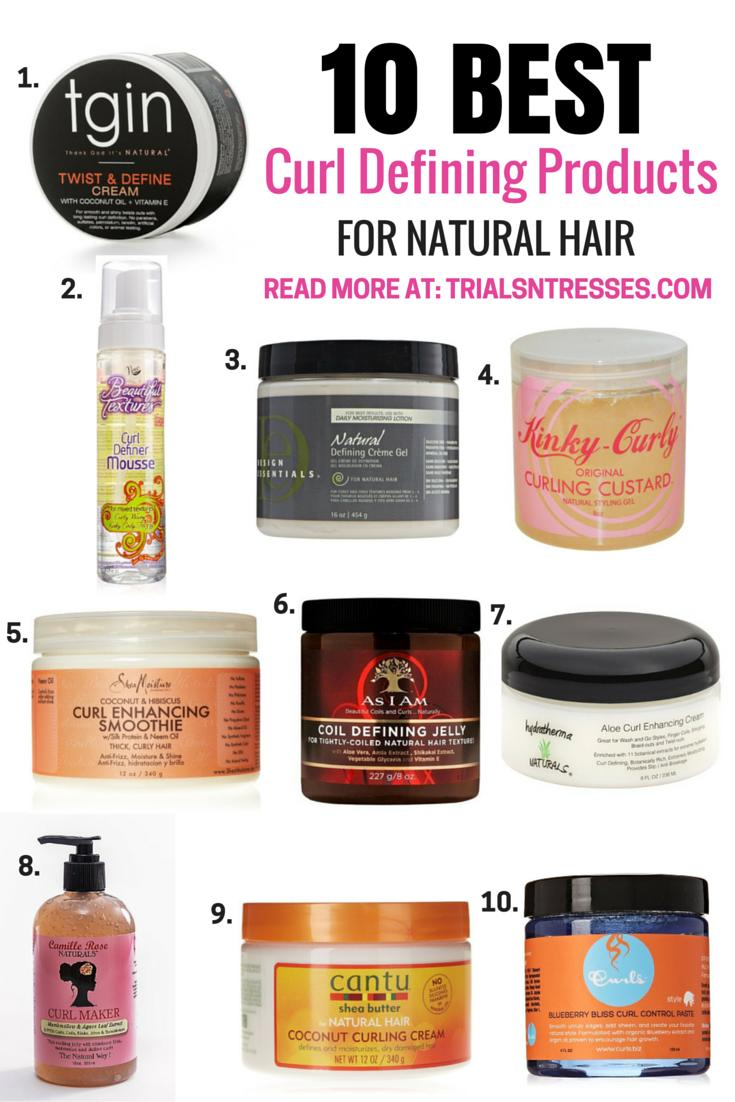 The Best 10 Best Curl Defining Products For Natural Hair Poppin Pictures