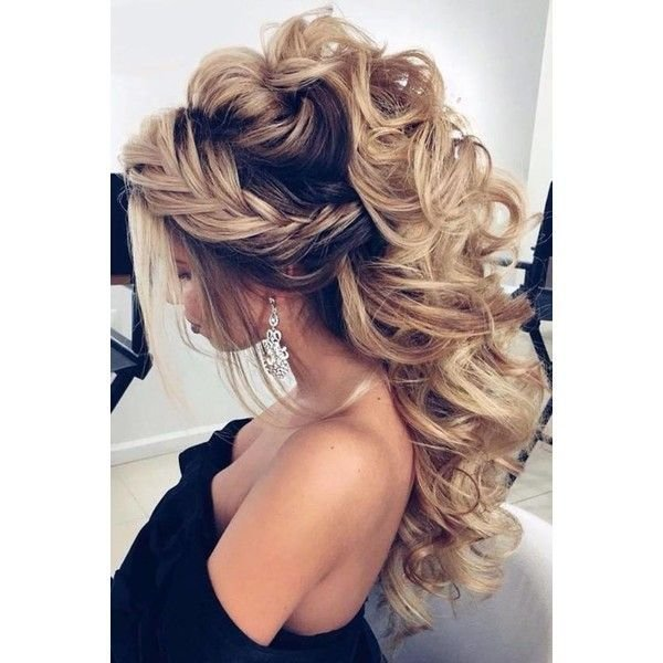 The Best Prom Hairstyles Down Liked On Polyvore Featuring Hair Pictures