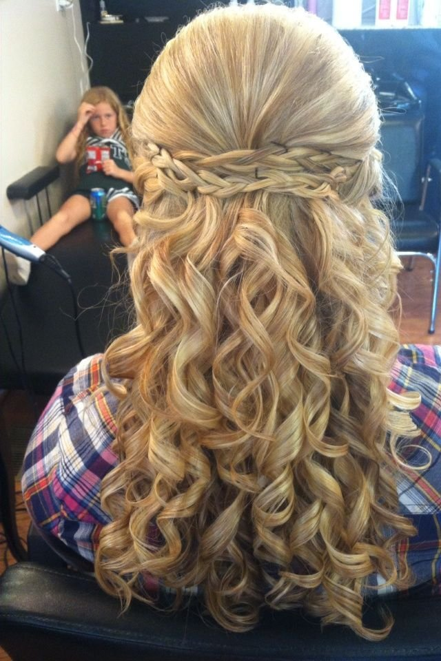 The Best Amazing Long Blonde Homecoming Hairstyle Homecoming Pictures