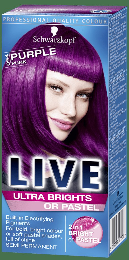 The Best Live Ultra Brights Or Pastel Purple Punk Purple Hair Dye Pictures