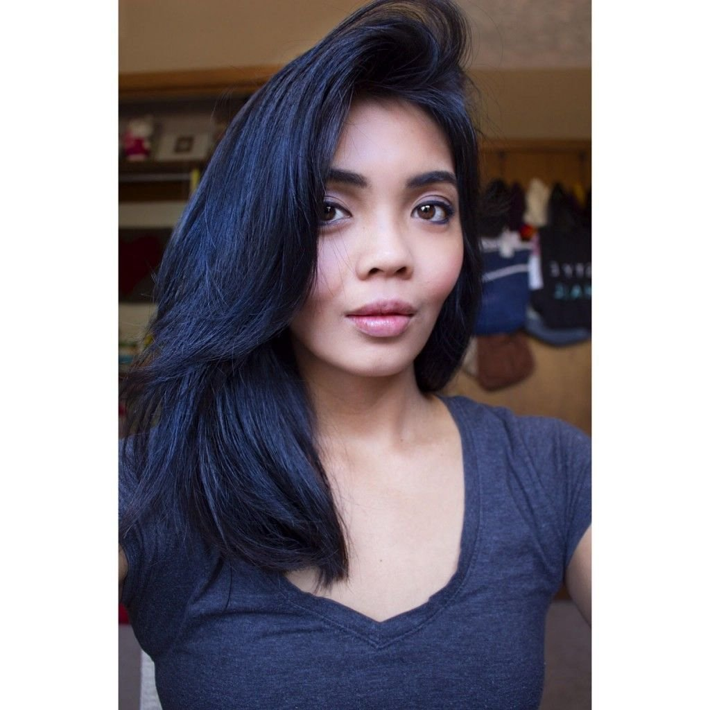 The Best Photo Dark Blue Hair Color Dye Best Black Hair Dye With Pictures