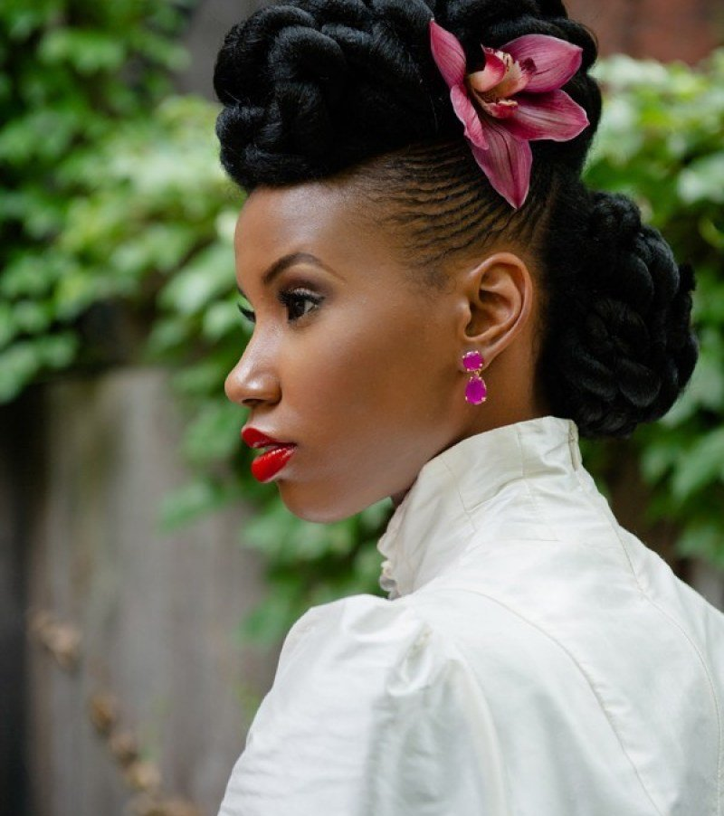 The Best More Natural Black Wedding Hairstyles To Lead You Towards Pictures