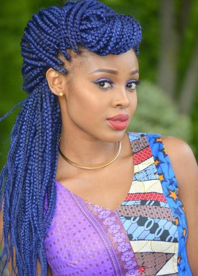 The Best Top 20 Box Braids Updo Hairstyles Pictures