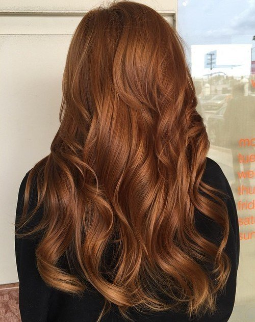 The Best 40 Fresh Trendy Ideas For Copper Hair Color Pictures