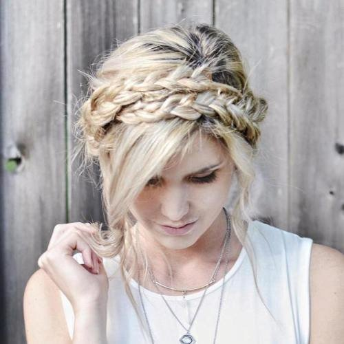 The Best 20 Chic Milkmaid Braid Ideas Pictures