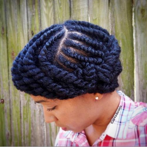 The Best 20 Hottest Flat Twist Hairstyles For This Year Pictures