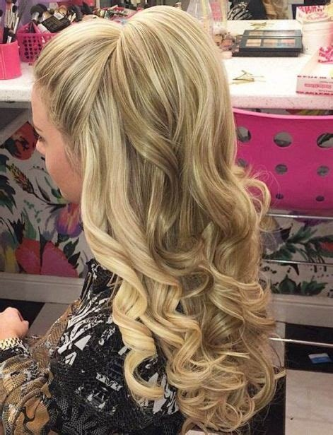 The Best 50 Gorgeous Prom Hairstyles For Long Hair Society19 Pictures