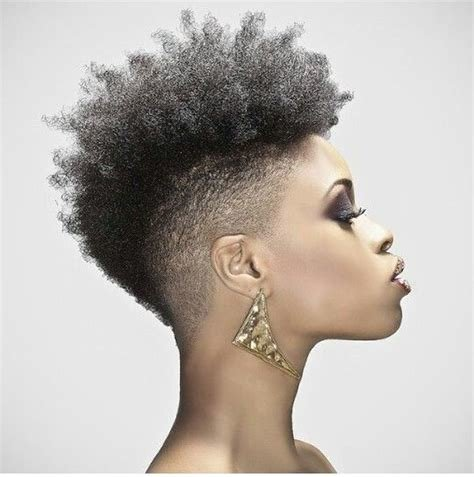 The Best 40 Mohawk Hairstyle Ideas For Black Women Pictures