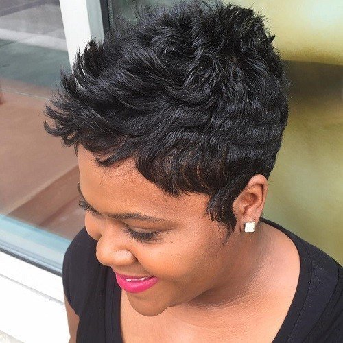 The Best 60 Great Short Hairstyles For Black Women Pictures