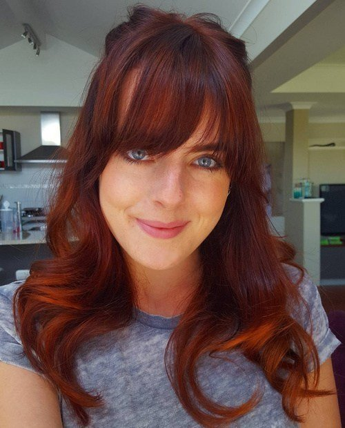 The Best 60 Auburn Hair Colors To Emphasize Your Individuality Pictures