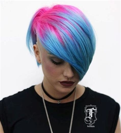 The Best 20 Styles With Cotton Candy Hair That Are As Sweet As Can Be Pictures