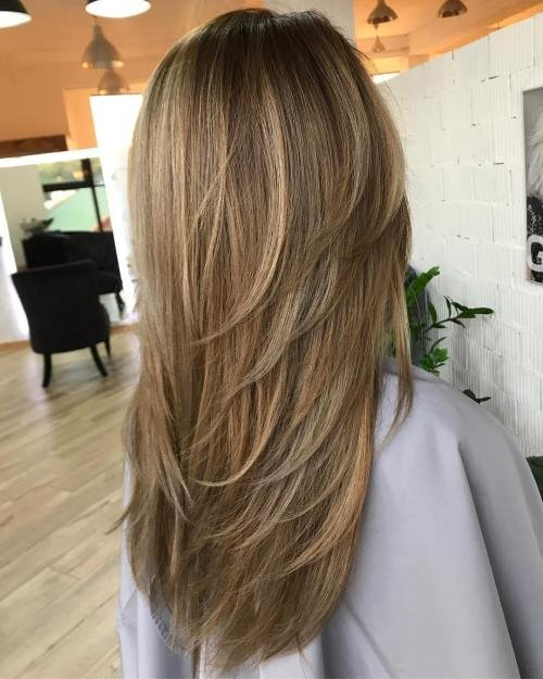 The Best 80 Cute Layered Hairstyles And Cuts For Long Hair In 2018 Pictures