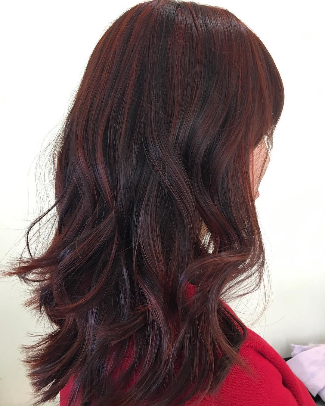The Best 50 Shades Of Burgundy Hair Color Dark Maroon Burgundy Pictures