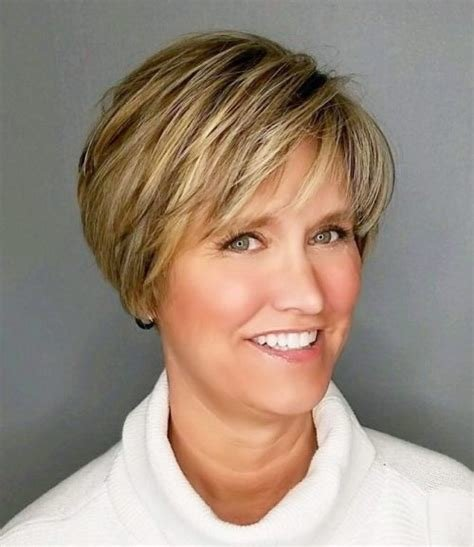 The Best 90 Classy And Simple Short Hairstyles For Women Over 50 Pictures