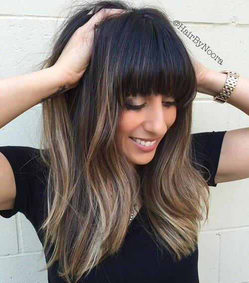 The Best 50 Cute Long Layered Haircuts With Bangs 2019 Pictures