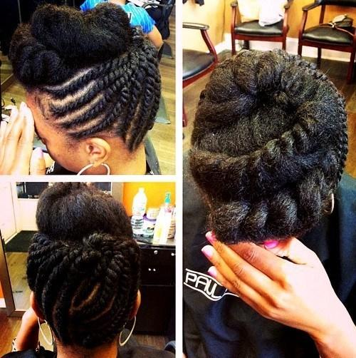 The Best 50 Cute Updos For Natural Hair Pictures