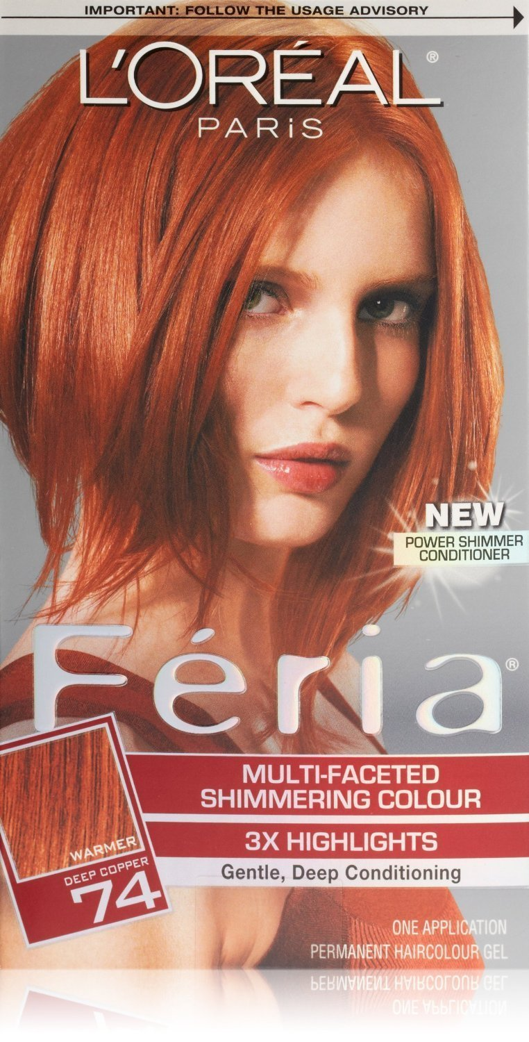 The Best Feria Hair Color Feria Copper Shimmer From L Oreal Paris Pictures