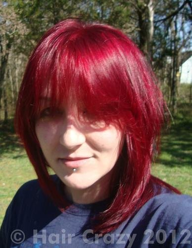 The Best Buy Vampire Red Manic Panic Hair Dye Haircrazy Com Pictures