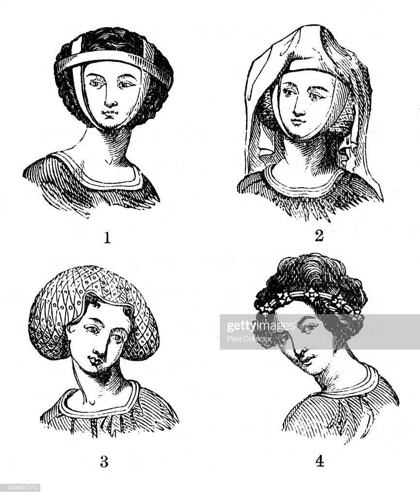 The Best Women S Hairstyles Late 13Th Early 14Th Century Hair Pictures