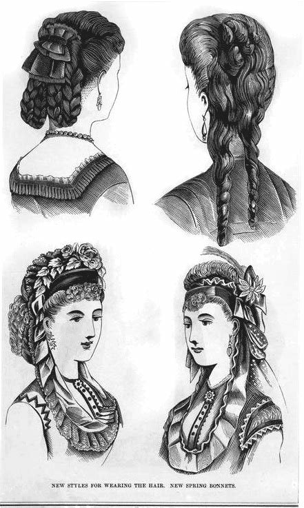 The Best The Hottest Hairstyles From 1870 Click Americana Pictures