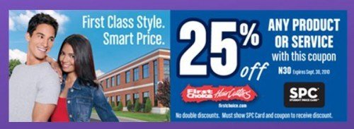 The Best Spc Canada Weekly Perks 25 Off First Choice Haircutters Pictures