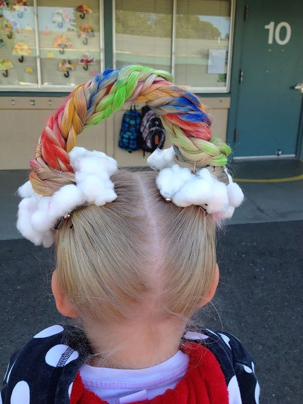 The Best 64 Of The Best Crazy Hair Day 'Dos Ever Bored Panda Pictures