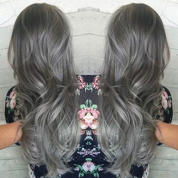 The Best 21 Stunning Grey Hair Color Ideas And Styles Stayglam Pictures