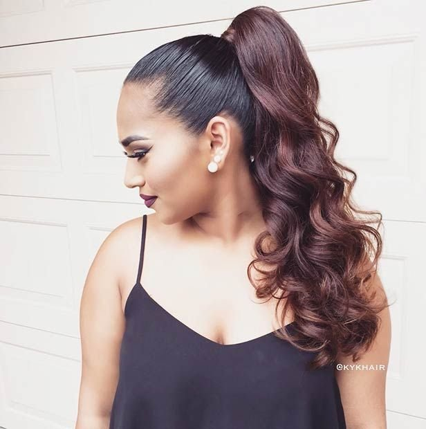 The Best 45 Elegant Ponytail Hairstyles For Special Occasions Pictures