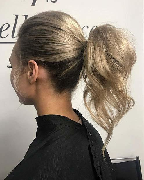 The Best 21 Elegant Ponytail Hairstyles For Special Occassions Pictures