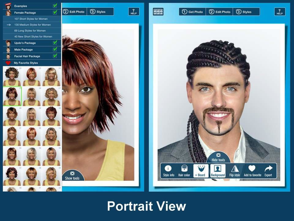 The Best Hairstyle Pro For Ipad Try On Virtual Hairstyles For Men Pictures