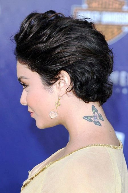 The Best January 2014 Short Celebrity Hair Styles Pictures