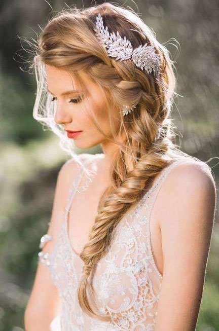 The Best Reception Hairstyle And Indian Wedding Hair Style Ideas Pictures