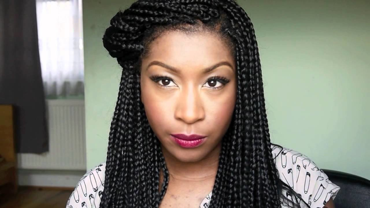 The Best Box Braids Inspired Hairstyles Pictures
