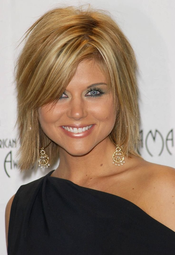 The Best Tiffani Thiessen Hairstyles Fade Haircut Pictures