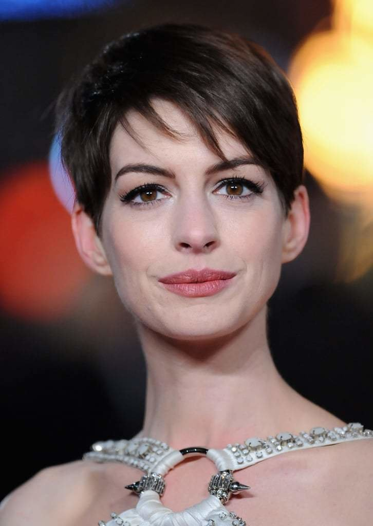 The Best Celebrity Hair Inspiration From Anne Hathaway S Pixie Crop Popsugar Beauty Australia Pictures