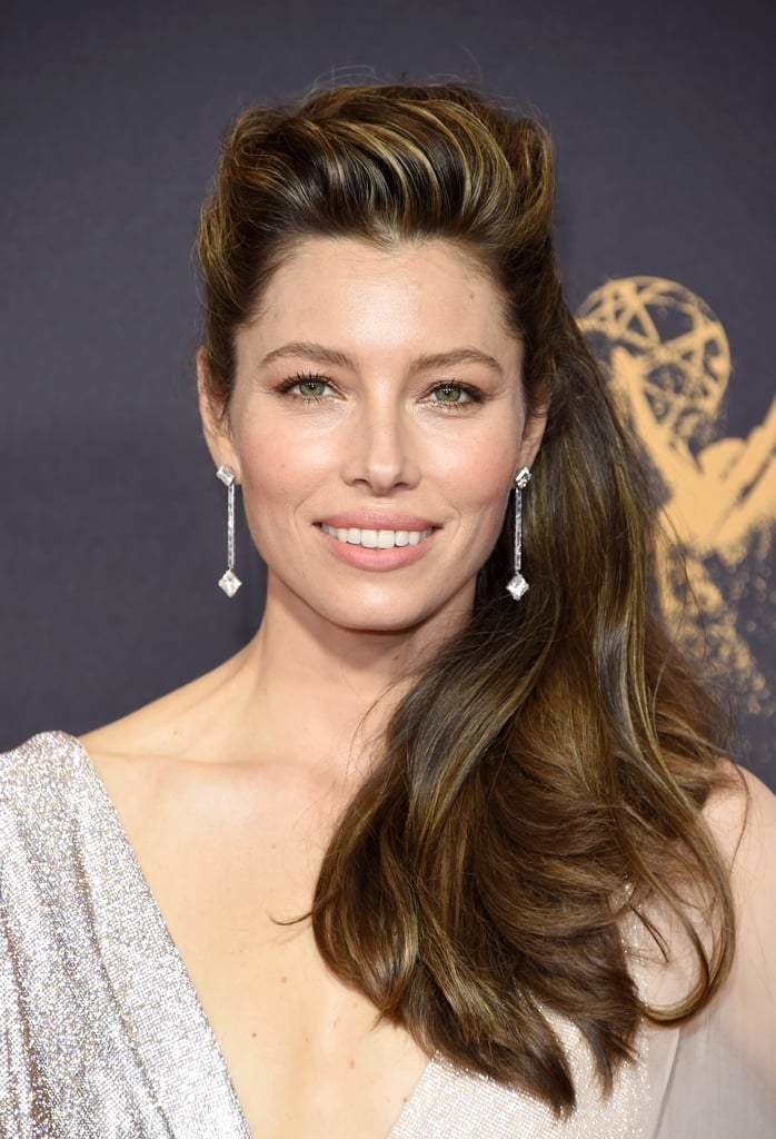 The Best Jessica Biel Hair And Makeup At The Emmys 2017 Popsugar Pictures