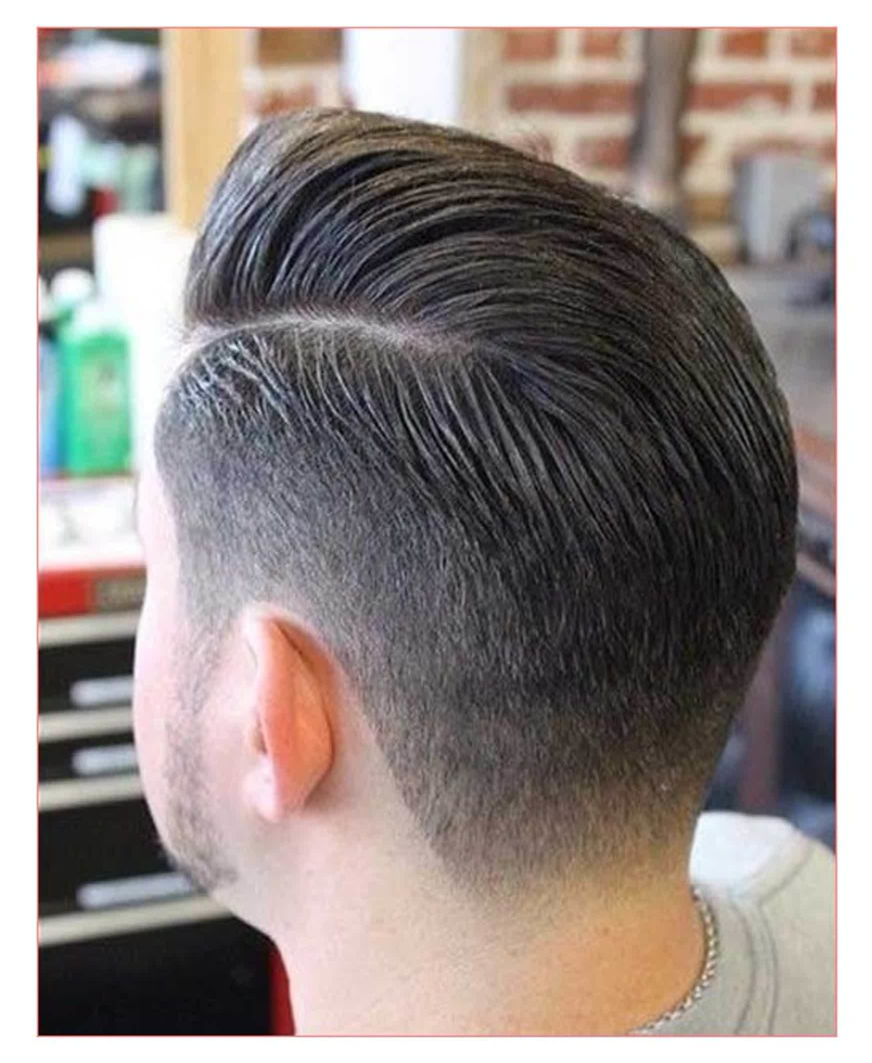 The Best Mens Hairstyles Back View Fade Haircut Pictures
