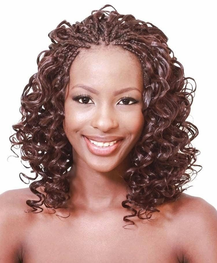 The Best Best Curly Braids Hairstyles Tuko Co Ke Pictures