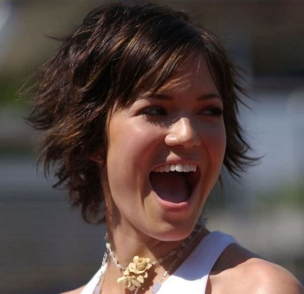 The Best 15 Funky Mandy Moore Short Hairstyles Pictures