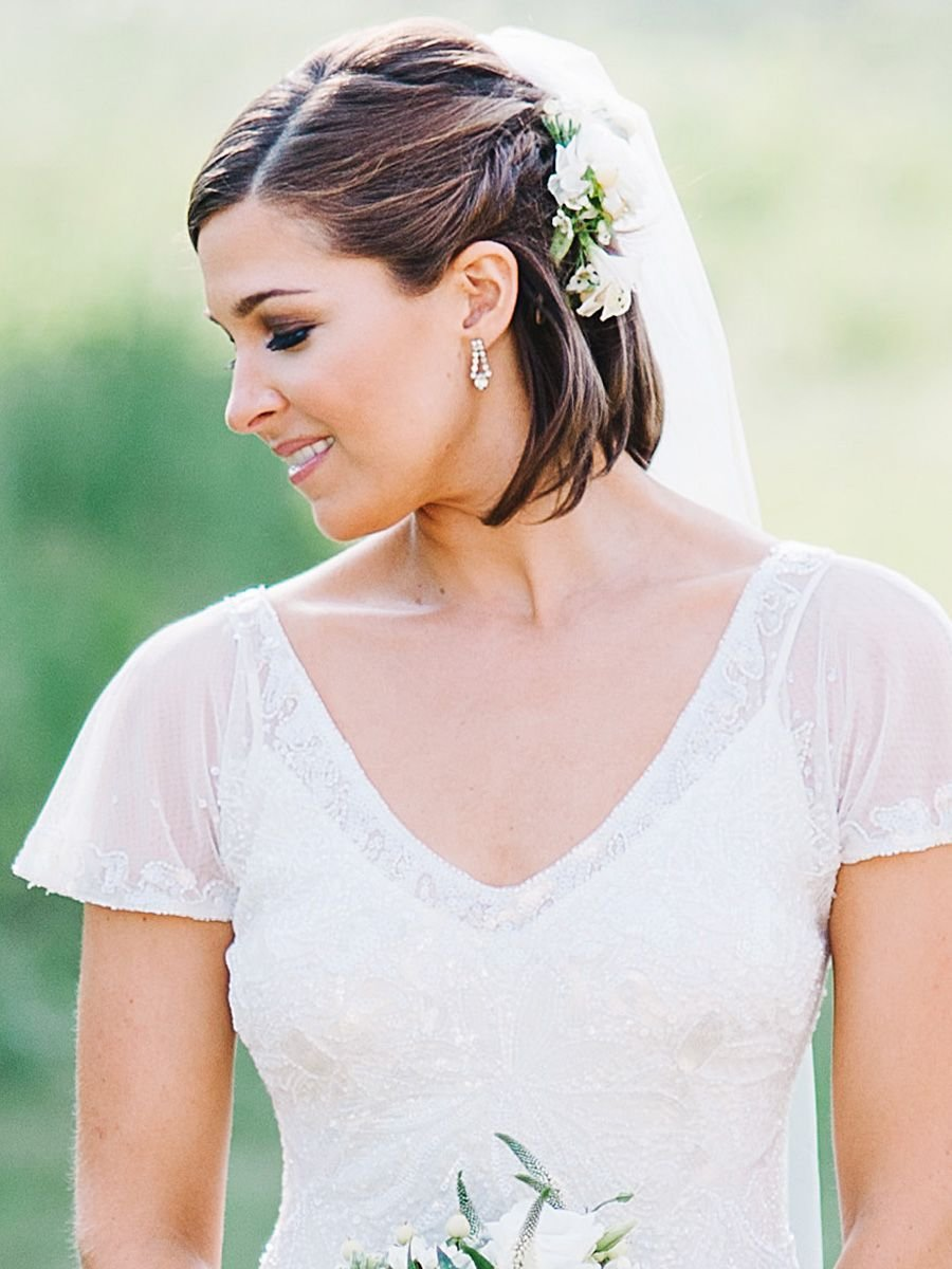 The Best 8 Braided Wedding Hairstyles For Short Hair Pictures