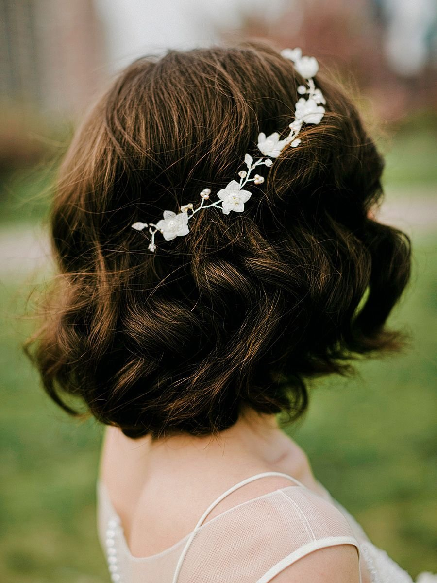 The Best Gorgeous Short Hairstyles For Your Wedding Day Pictures