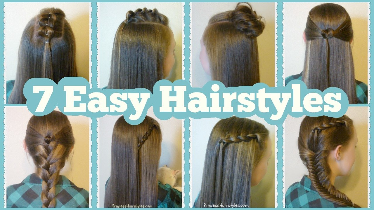 The Best 7 Quick Easy Hairstyles For School Hairstyles For Pictures