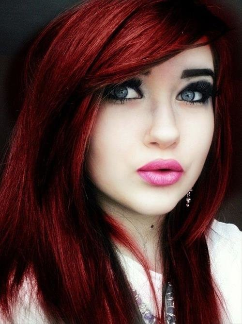 The Best 40 Bold Beautiful Bright Red Hair Color Shades Pictures