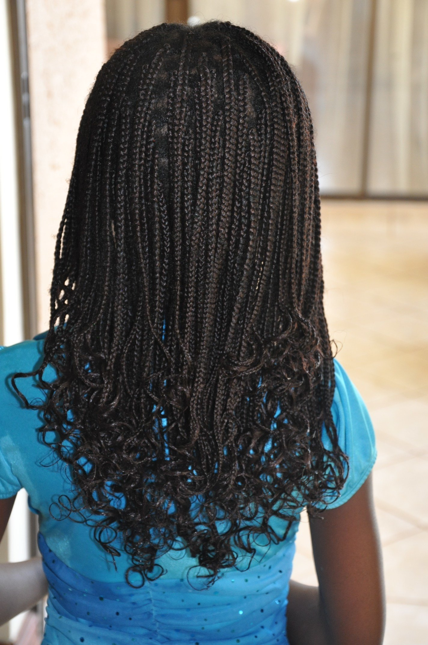 The Best Style Tutorial – Perm Rod Set On Braids Africanhairblog Pictures