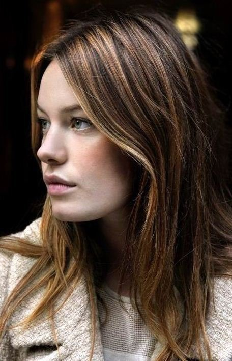 The Best Beautiful Women Long Highlight Hair Color Lisanne Hair Pictures