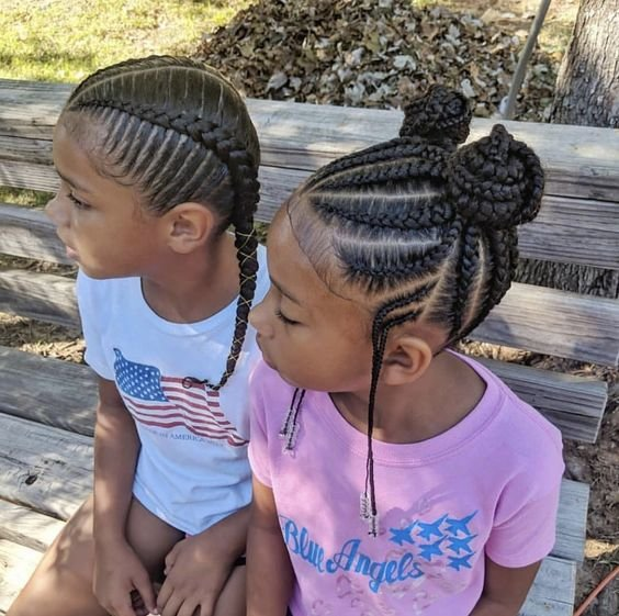 The Best Braided Hairstyles For Kids Pictures