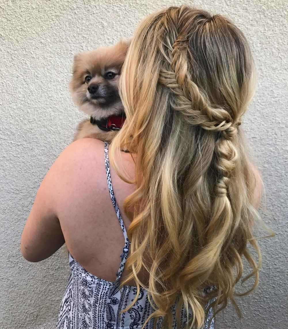 The Best 38 Ridiculously Cute Hairstyles For Long Hair Popular In 2019 Pictures